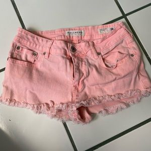 Bullhead size 7 shorts low rise